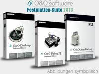 O&O Festplatten Suite 2013 für 4,90 Euro - Backup, DiskImage und Defrag