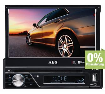 AEG AR 4026 Autoradio (DVD/CD, 17,5 cm (7 Zoll) LCD-Display