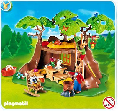 Playmobil Osterhasen Baumhaus 4460 @playmobil.de