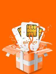 Gratis Simyo-Karte mit 1 Euro Guthaben
