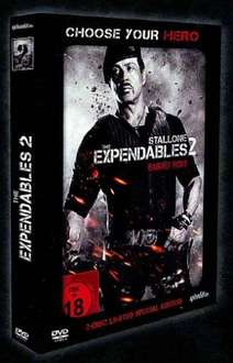 The Expendables 2 Limited Uncut Hero Pack Blu-ray