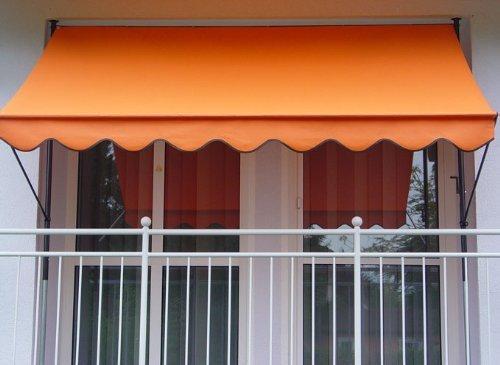 Klemmmarkise Uni Orange PE Breite 300 cm für 75,94€ @ hollywoodschaukel-paradies.de (oder Amazon)
