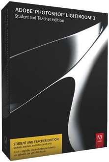 Adobe Photoshop Lightroom 3 englisch - STUDENT AND TEACHER EDITION @ Amazon 35,28 €