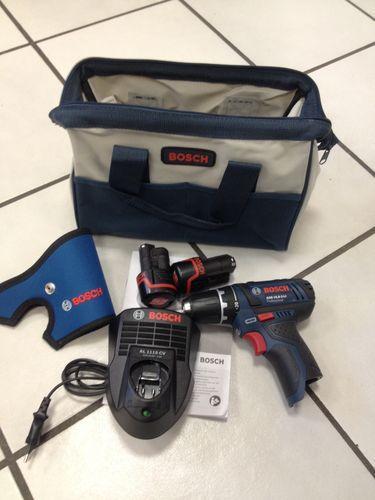 Bosch GSR 10,8-2-Li inkl. 2x Akku und Ladegerät - blaue Professional Serie / oder GSB oder GWB