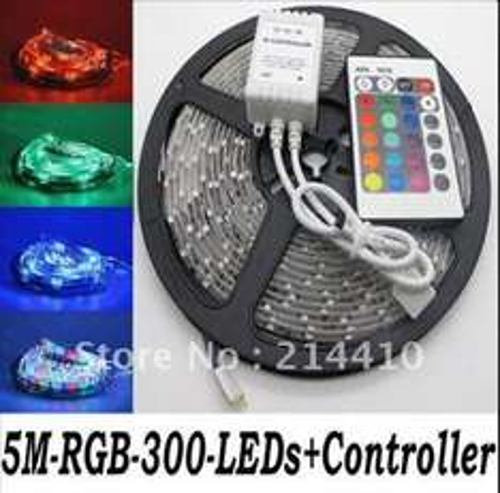 5050 300 5M RGB LED SMD 60led/m $16.15 12,56€