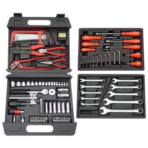 Famex Universal Werkzeugkoffer 156 teilig - 4,1 von 5 Sternen bei 94 Rezensionen @ Amazon (Osternest)