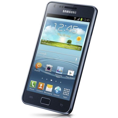 Samsung Galaxy S II Plus (I9105), blue-grey, ohne Branding oder SIM-Lock @ Ebay WOW