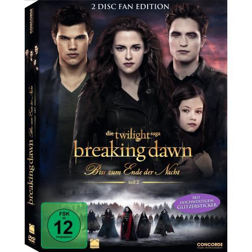 [Lokal] Breaking Dawn - Bis(s) zum Ende der Nacht - Teil 2 (Fan Edition) [2 DVDs]
