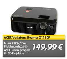 HEUTE: Acer X1130P DLP Beamer 3D ready @MP