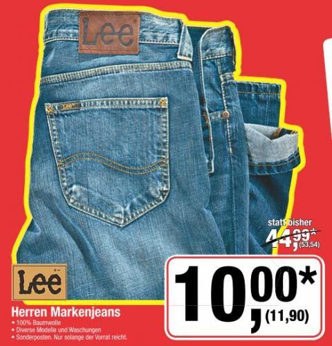 [metro] Lee Herrenjeans - statt 53,54€ nur 11,90€