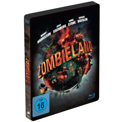 [Amazon] Zombieland Limited Steelbook Edition Bluray für 9,97 (und weitere Steelbooks)