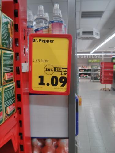 [Penny lokal?] Dr Pepper 1,25 Liter