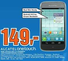 [Lokal Hilden] Saturn - Alcatel One Touch 997D Dual Sim Ardesia vertragsfrei