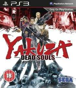 (UK) Yakuza: Dead Souls [PS3] für 8.25€ @ Zavvi