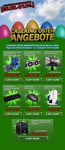 Caseking Oster-Angebote bis 1.4.! z.B. BenQ XL2411T für 249,90€ + Versand uvm.