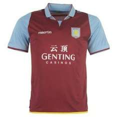 Macron Aston Villa Home/Away Shirt 2012 2013 [Sportsdirect.com]