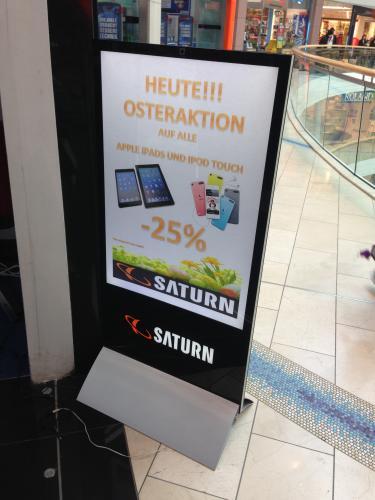 -25% Rabatt auf Ipad´s & Ipod Touch bei SATURN Wiesbaden