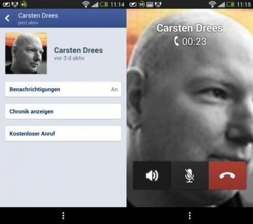 Kostenlos telefonieren mit Facebook