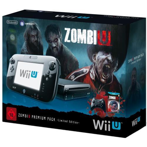 NINTENDO Wii U - Konsole 32 GB, ZombiU Premium Pack Limited Edition @ MediaMarkt.de für 279,00 EUR