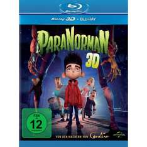 [Amazon] Nur heute: Paranorman 3D Bluray + Bluray