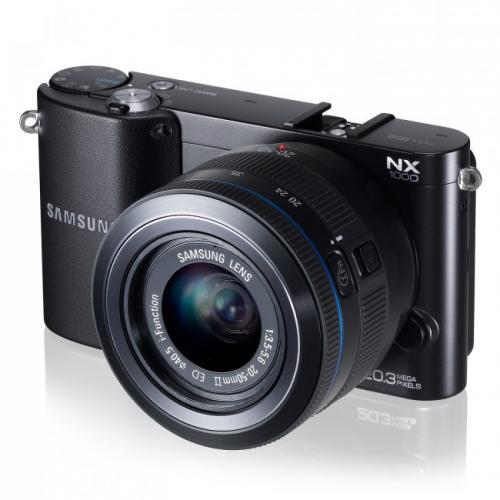 Samsung NX1000 20.50mm Objektiv schwarz oder weiß [nur heute/nur online] für 199€ + Versand bei electronic4you