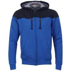 2x Bravesoul Men's Kemp Zip Through Hoody in 3 verschiedenen Farben
