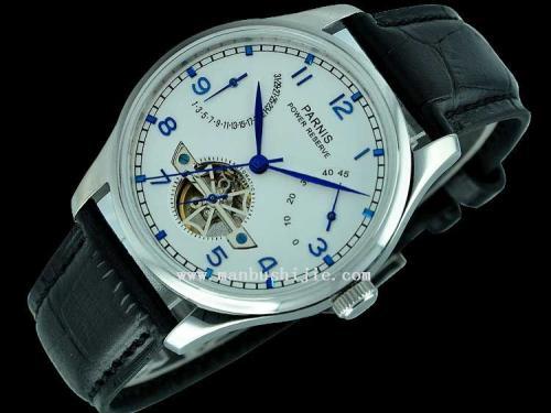 Parnis Powerreserve - Mechanische Uhr, Sea-Gull ST25 Werk