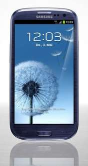 Samsung Galaxy S3 LTE + NFC i9305 16GB Pebble Blue  @getgoods.de 394€