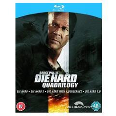 (UK) Stirb langsam 1-4 (Die Hard Quadrilogy) [4 x Blu-ray] für 16.54€ @Zavvi