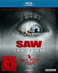 [Amazon WHD] SAW I-VII Blu-Ray Zustand Sehr gut
