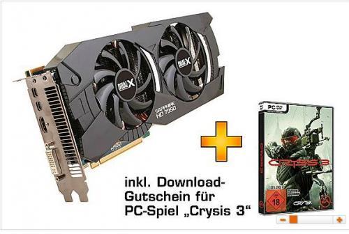 SAPPHIRE HD 7950 3GB mit Boost inkl. Gutschein für Crysis 3