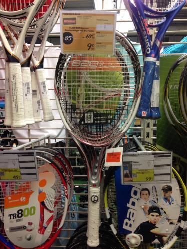 [Lokal?] Tennisschläger Artengo TR820 Flaxfiber bei Decathlon Dortmund für 9,90€