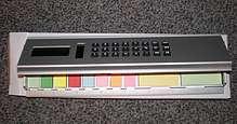 3 in 1 Tischrechner Lineal mit Haftnotizen