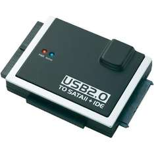 Conrad USB 2.0 IDE&SATA Konverter Kabel für 16,95€ inkl. Versand