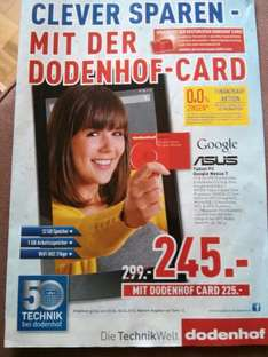 [Lokal] Google Nexus 7 32GB / Posthausen bei Bremen