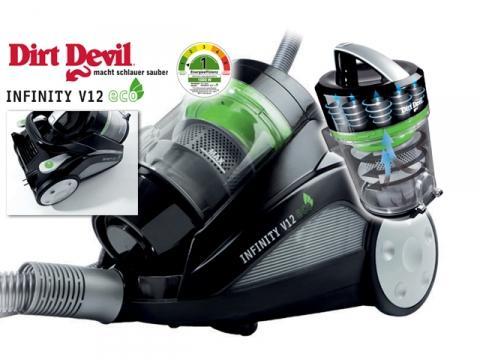 Staubsauger Dirt Devil M5011-4 Infinity V12 eco -22% günstiger!!