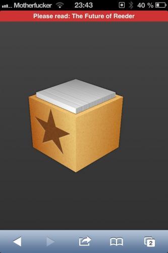 Reeder für IPad + Mac - kostenlos statt 4,49€