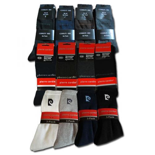 15 Paar Pierre Cardin oder Cerruti 1881 Herrensocken Strümpfe Socken für 19,99€