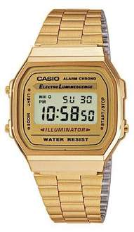 Casio Collection A168WG-9EF Gold @WHD