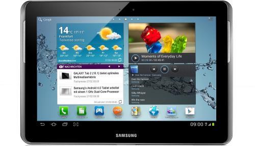 Samsung Galaxy Tab 2 10.1 Wi-Fi 16GB für 249€ bei BASE.de