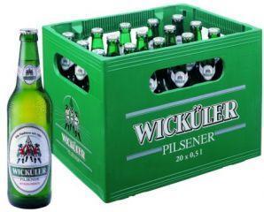 Wicküler Pilsener - 3 Kästen für 17,78 (Marktkauf Chemnitz)