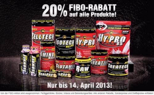 Supplemente von All-Stars.de. Fibo-Rabatt in Höhe von 20%, bis zum 14. April 2013