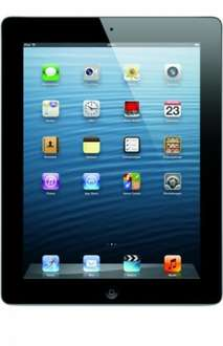 Apple iPad 4 (Retina / Wi-Fi / 16GB / schwarz / GENERALÜBERHOLT) für 429€