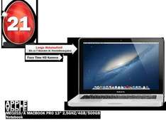 "[MediaMarkt Osterdeals] Apple MacBook Pro, 13.3"", Core i5-3210M, 4GB RAM, 500GB (MD101D/A) (Mid 2012)"
