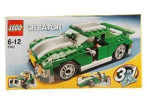 Lego Creator Grüner Flitzer (6743) für 18,89€ oder LEGO Technic 8259 Mini Bulldozer für 15,01€ @ DC