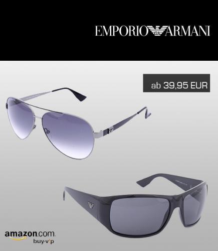 Stark reduziert! Armani Sonnenbrillen in versch. Variationen ab 39,95 EUR zzgl. Versand (amazon buyvip)