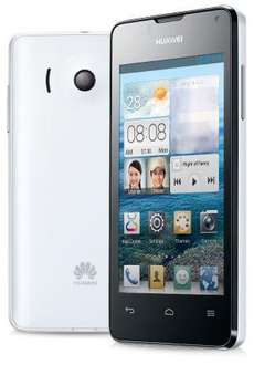"Huawei™ - Smartphone ""Ascend Y300"" (4 Zoll 480x800, 2x1Ghz.,4GB/512MB,Android 4.1,5MP Cam AF/LED) ab €110,65 [@o2online.de]"