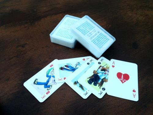 Gratis Kartenspiel mit Arztcartoons bei ichbinarzt.de