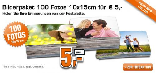 @Saturn (online?): 100 Fotos 10x15 für 5€ entwicklen lassen