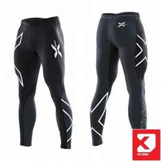 Hose, Shorts 2XU - Mens Compression Tights Schwarz | L     sport-schuster.de